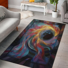 Load image into Gallery viewer, Black Hole Area Rug