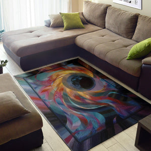 Black Hole Area Rug