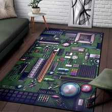 Load image into Gallery viewer, Circuit Board  Area  Rug