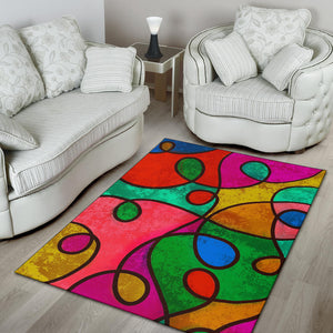 Abstract Loop Rug
