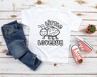 Little Love Bug Color Me Tee