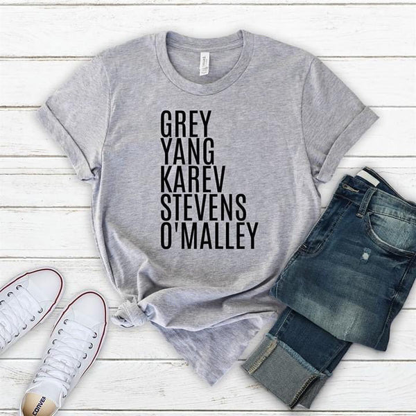 Greys anatomy shirt, greys anatomy squad shirt,  med student gift, gift for nurse, gift for her, greys lover, greys anatomy tee, fan shirt