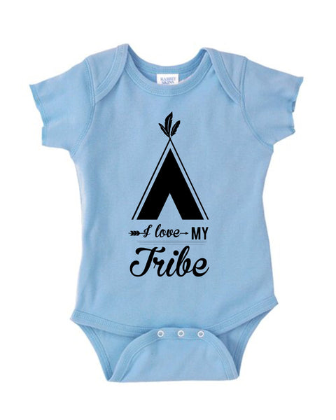 Love my tribe baby onesie| Baby name onesie| Baby shower gift| Gift for new baby| gift for new mom| personalized baby onesie| tutu romper