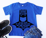 Batman shirt, superhero shirt,  shirt, batman squad, batman gift, gift for batman fan, cute boys shirt, squad shirt, superhero squad