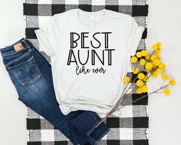 Best aunt shirt, aunt shirt, gift for aunt to be, Christmas gift, aunt and me, best aunt shirt, gender reveal shirt for aunt, team boy shirt