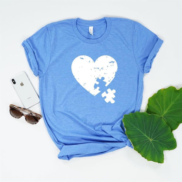 Autism awareness shirt, autism mom shirt, mom life tee, autism puzzle heart, autism heart, my heart belongs to, autism awareness shirt