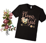 Petal Patrol shirt, flower girl tee, flower girl gift, wedding party gifts, petal patrol flower girl, gift for flower girl, flower petal gir