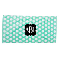 custom beach towel, monogram towel, Personalized beach towel, custom beach towel, beach vacation, pool party, party towel, monogram towel