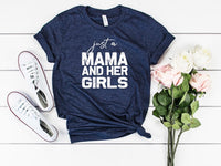 girl mom shirt, mom of girls, girl dad, cute mom shirt, mom life tee, graphic tee, unisex tee, girl mom, me and my girls shirt, matching tee