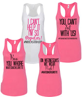 Mean girls bridesmaid shirts, mean girls shirts, bachelorette party shirts, mean girls theme, mean girls bachelorette, Maid of honor shirts
