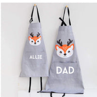 Daddy and me aprons, dad and kid cooking apron set, personalized apron, mommy and me set, cupcake apron set, matching aprons, custom aprons