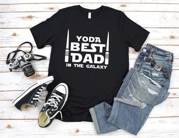 Yoda best Dad in the galaxy shirt, Mandalorian shirt, Mandalorian dad gift, Star Wars shirt, Great gift for him, Gift for dad