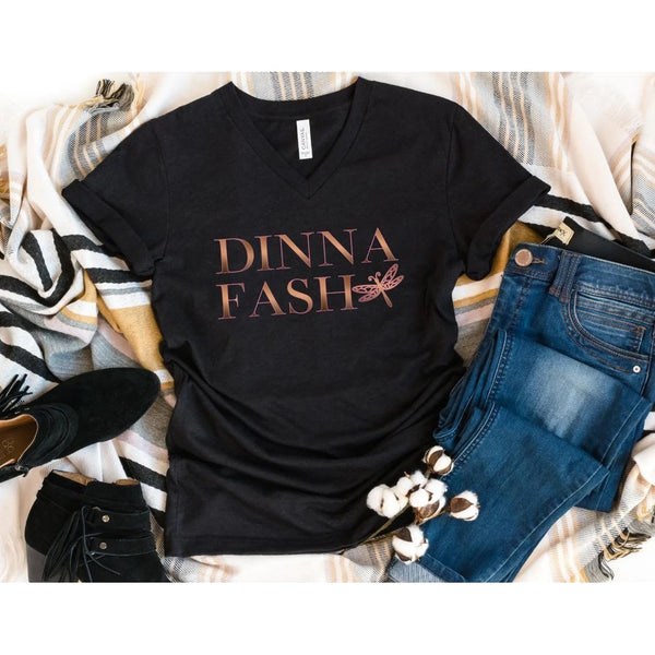 Dinna Fash shirt, Outlander fan shirt, outlander sassenach shirt, outlander fan gift, gift for her, christmas gift, jamie frazier, Sassenach