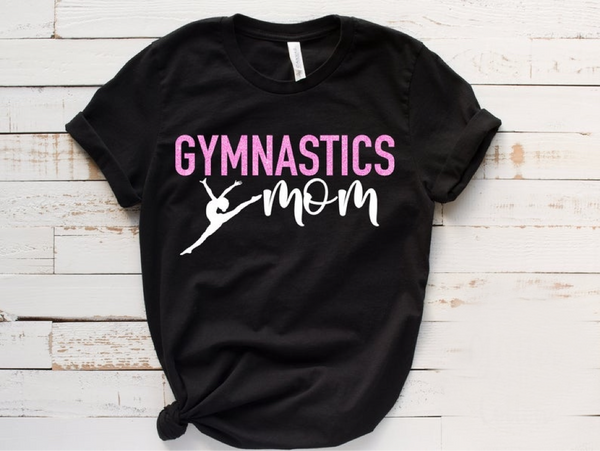 Gymnastics mom life shirt