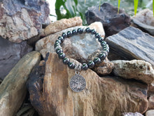 Load image into Gallery viewer, Hematite 8mm Natural Stone Bracelet