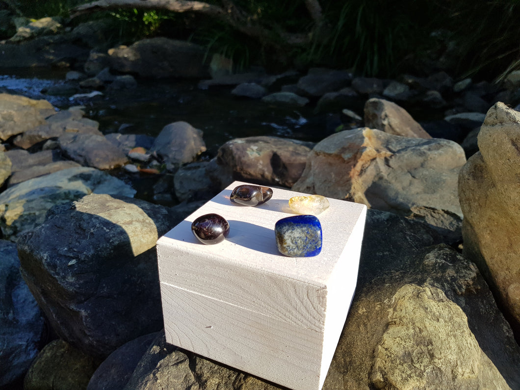 Crystal Healing Set used to aid Depression