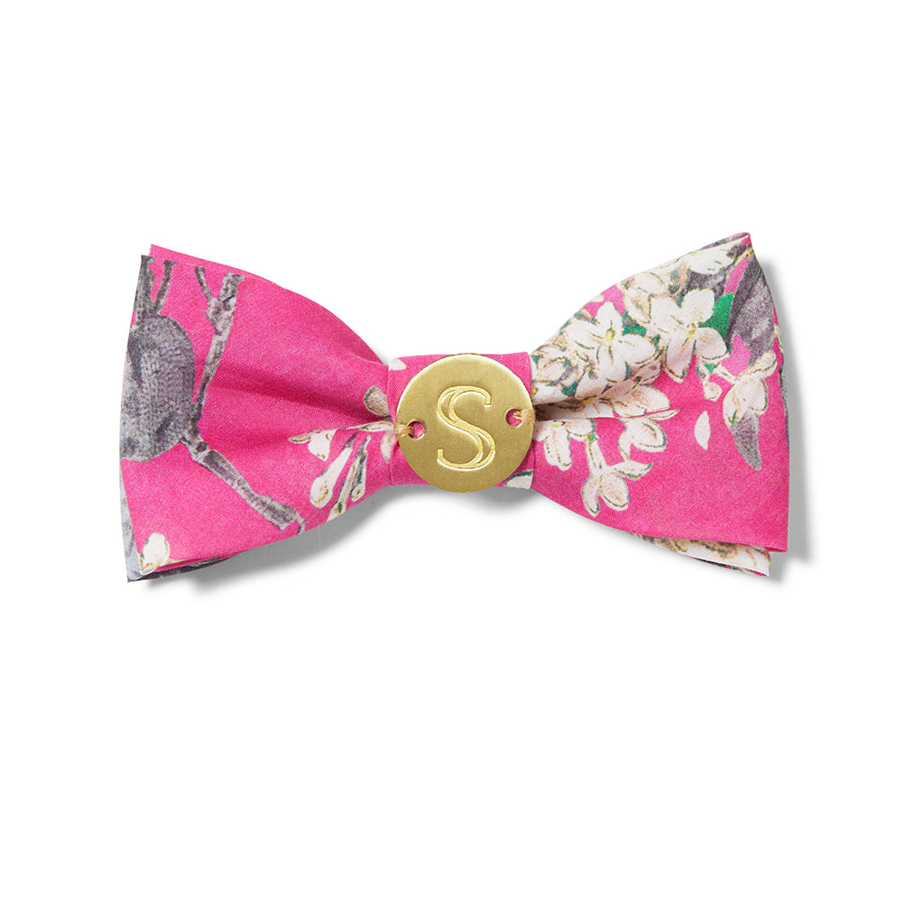 Liberty Bow Tie - Floral Pink