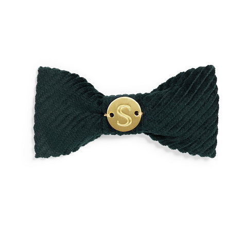 Corduroy Bow Tie - Teal