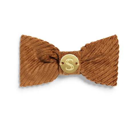 Corduroy Bow Tie - Toffee
