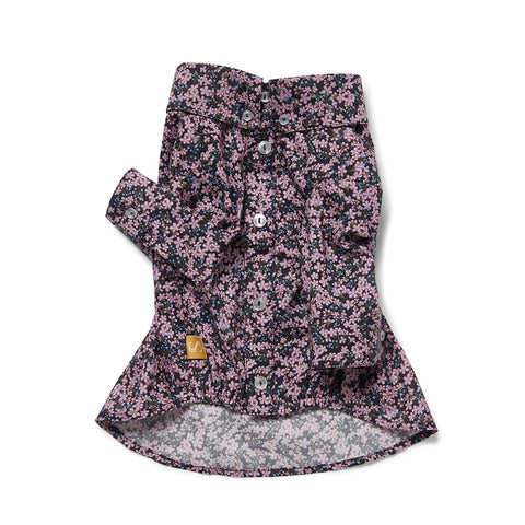 Liberty Dog Shirt - Sprig Violet