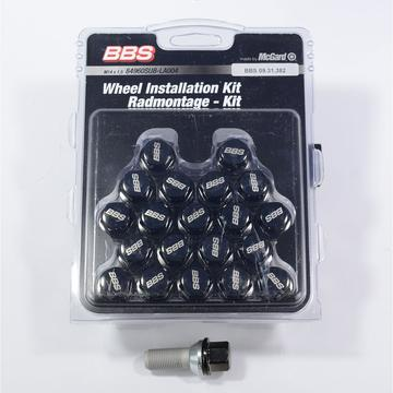 BBS-McGard Black Lugbolt Sets