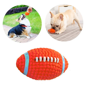 Dog Toy Latex Material football