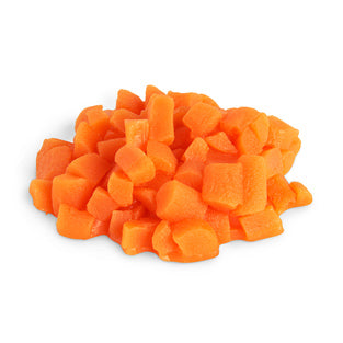 CARROTS, DICED, 1/4 CUP