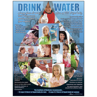 POSTER DRINK WATER