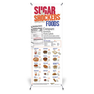 BANNER/STAND SUGAR SHOCKER