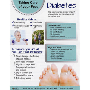 TABLET DIABETES FOOT CARE