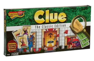Classic Clue Family Board Game
