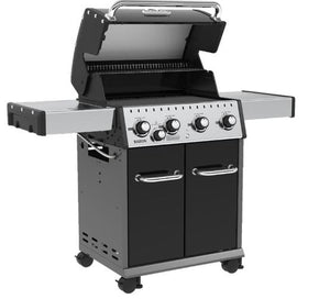 Baron 440 4 Burner + 1 Inset Side Burner 644 sq. in. 40,000BTU Propane Barbecue