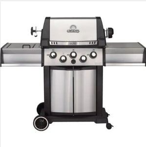Signet 390 Propane BBQ - 3 Burners + Side & Rotisserie Burners
