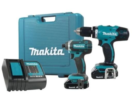 2 Tools 18 Volt Lithium-ion Cordless Combo Kit