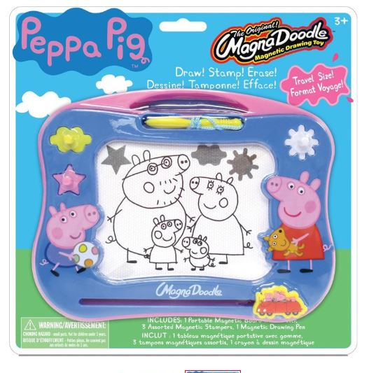 Peppa Pig Magnetic Board Travel Drawing Set