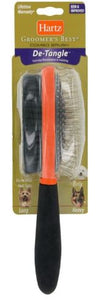 2 Sided Dog Brush, Assorted Colours