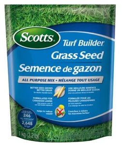 1kg Turf Builder All Purpose Grass Seed
