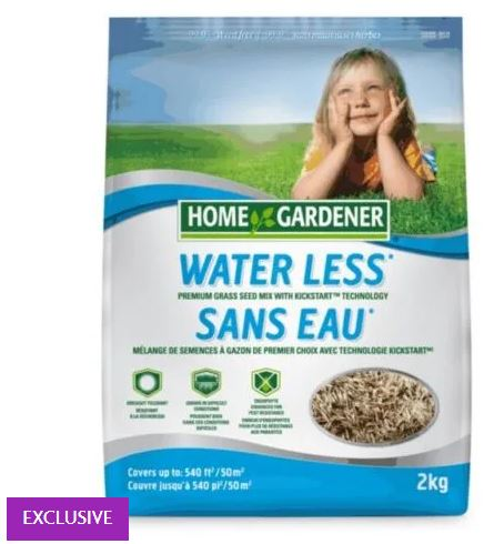 2kg Water-Less Mix Grass Seed