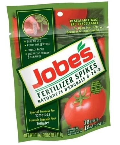 18 Pack Tomato Fertilizer Spikes