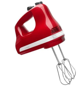 Ultra Power Hand Mixer - 5-Speed + Empire Red
