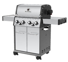 Load image into Gallery viewer, Baron 490 4 Burner + 1 Infa-Red Side Burner +1 Rear Rotisserie Burner Stainless Steel Propane BBQ
