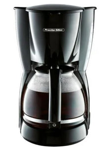 12 Cup Black Cone Coffee Maker