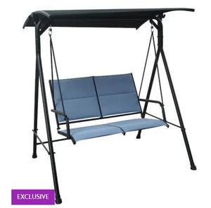 Clarity Steel 2 Seat Swing, with Cushions