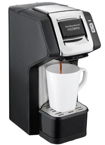 Black Flexbrew Hot Beverage Dispenser