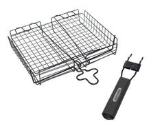 Load image into Gallery viewer, Non Stick Broiler Barbecue Basket, with Detachable Handle