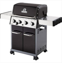 Load image into Gallery viewer, Baron 440 4 Burner + 1 Inset Side Burner 644 sq. in. 40,000BTU Propane Barbecue