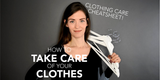 How to Take Care of Your Clothes (FREE Laundry Guide Cheatsheet!)