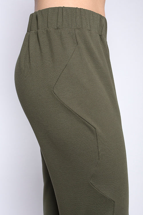 MARION leisure pants, green