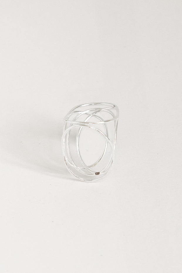 Ricochet statement ring