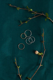 Set of 3 dainty knuckle rings